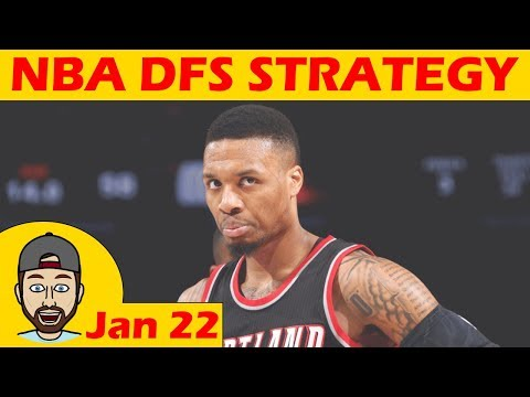 NBA DFS Projections & Strategy | Monday 1/22 | FanDuel & DraftKings