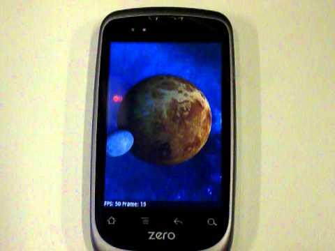 Geeksphone ZERO. Quadrant Benchmark con la Stock Rom (Android Froyo 2.2.1)