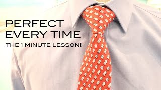 How to Tie a Windsor Knot (quickly!)