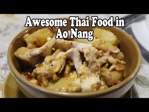 Ao Nang Thai Food. Tripadvisor Number 1 Restaurant in Ao Nang Krabi Thailand: Jungle Kitchen