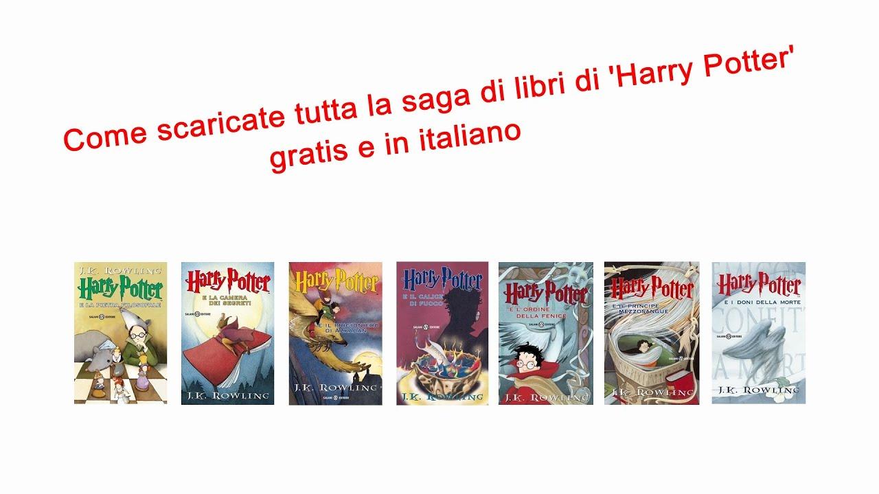 Saga Harry Potter Ebook Ita