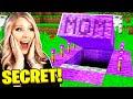 I Found My Mom's SECRET Minecraft House!