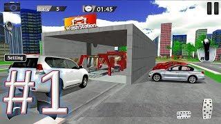 Modern Car Wash Extreme Car Stunts gameplay walkthrough 1 android & ios