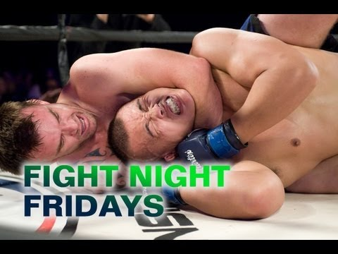 Chinese fighter Liu Wenbo's first-round submission victory over Aussie Matt Cain