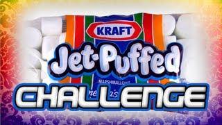 """Jet-Puffed Marshmallow Challenge"" Get Fluffy Bunnied Son!!"