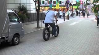 Heavy duty bicycle, Tokyo...