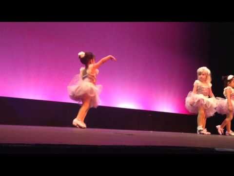 Funny 2 year old tap dance recital