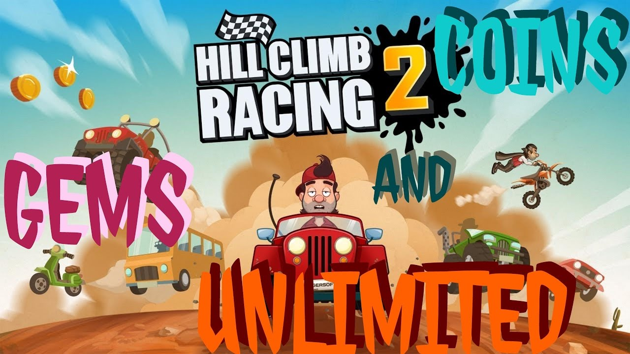 hill climb racing unlimited coins and gems