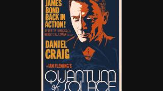 QUANTUM OF SOLACE SOUNDTRACK---No Interest In Dominic Greene