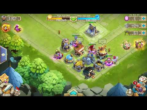 Castle Clash Base Tutorial