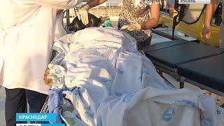 Врачи борются за жизни пострадавших при взрыве газа в Выселках