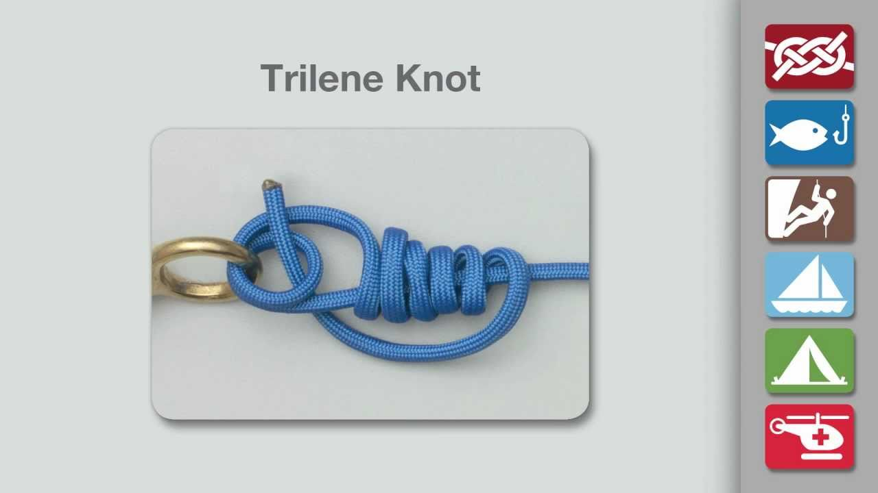 Trilene Knot | Fishing Knots | Animated Knots by Grog