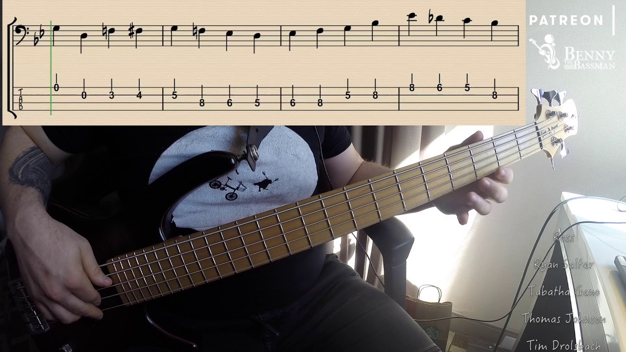 Big Bad Voodoo Daddy King Of Swing Bass Cover W Notation And Tabs