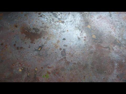 DIY. Имитация ржавого металла. Imitation of rusty metal. Rostiges Metall nachahmen.