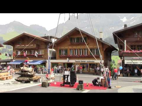 Suisse Suiza ALPES Adelboden Berne