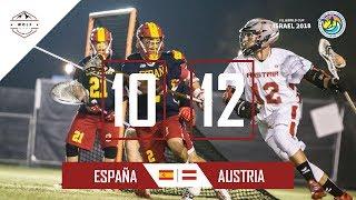 España lacrosse Netanya 2018 | Partido 3 contra Austria | Wolf