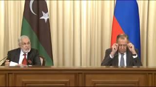 Пресс-конференция С.Лаврова и М.Сиялы по итогам переговоров