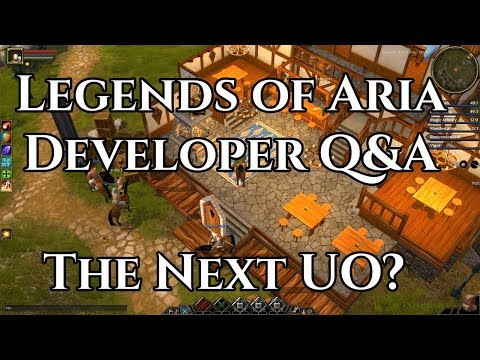 Legends of Aria Developer Q&A (Spiritual Successor to Ultima Online)
