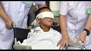 5 yr Old Has His Eyes Gouged Out By His Mother - Santanic Ritual