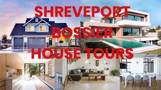 SHREVEPORT AND BOSSIER LOUISIANA HOUSE TOURS