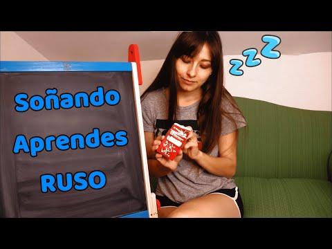 ASMR | La Tienda 2 | ¿Quieres aprender RUSO? Pues SOÑANDO mientras DUERMES... Principiantes...