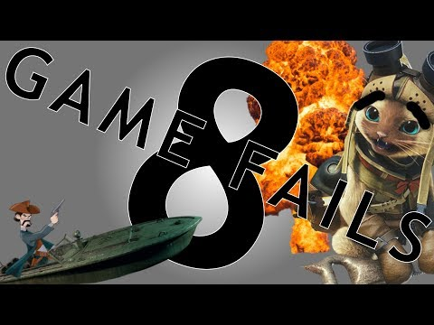 Game Fails 8 - Fails compilation. Bugs, glitches and fails. Monster Hunter World, PUBG, Rainbow 6 thumbnail
