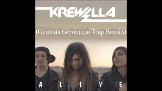 Krewella - Alive (Genesis Geronimo Trap Radio Edit) [Free Download Coming August 8]