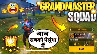 I Met Grandmaster Pro Lobby Squad \u0026 1st Season Elite Pass Player - Tonde Gamer || Garena Free Fire