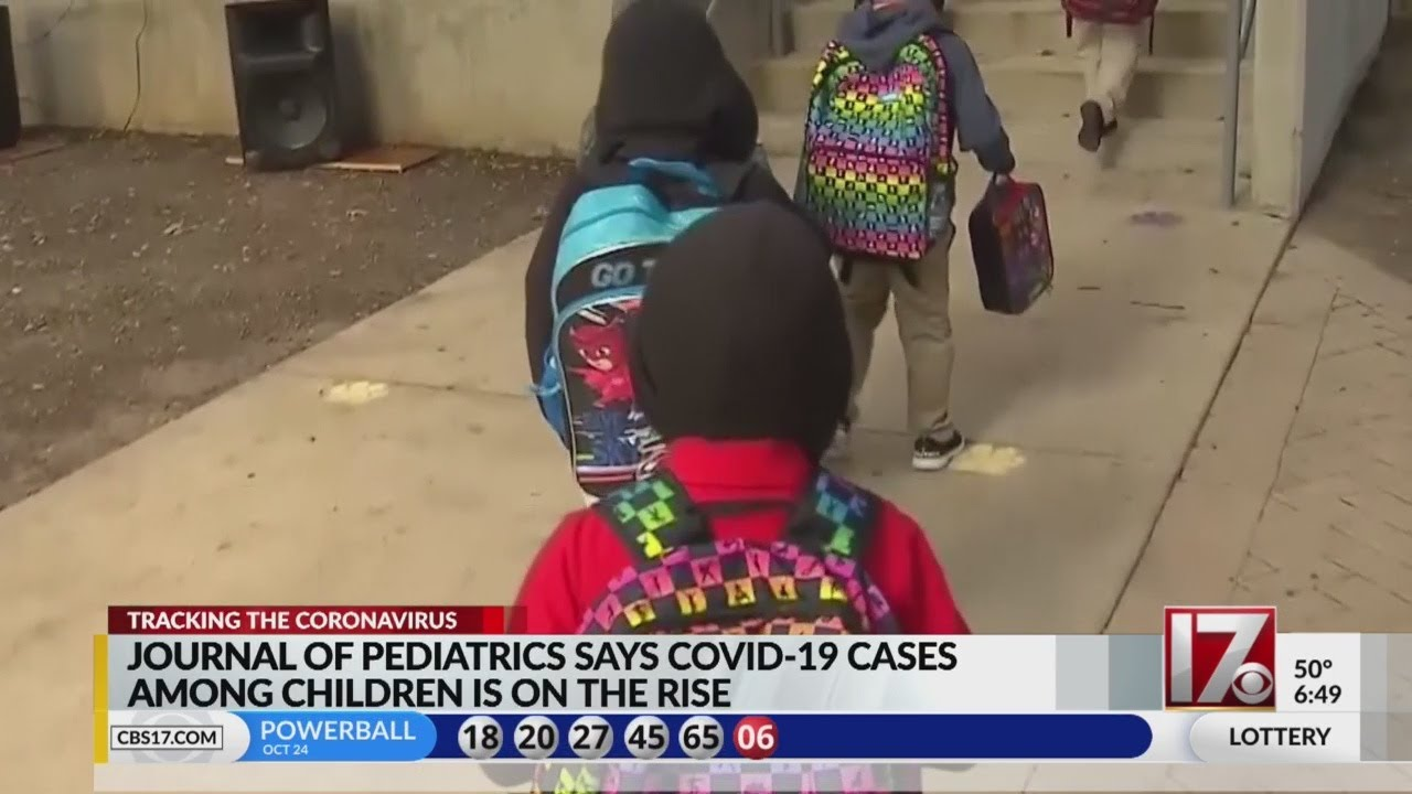 Journal of Pediatrics says COVID-19 cases among children is on the rise