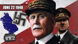 Nazi Europe?! - WW2 - 043 - June 22 1940