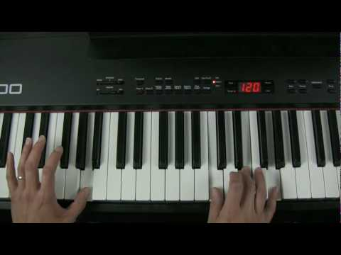 Piano Improvisation Playing A Minor 7th Chord Quaverbox