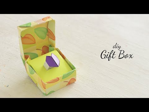 DIY Gift Box | Love Box |  Paper Box