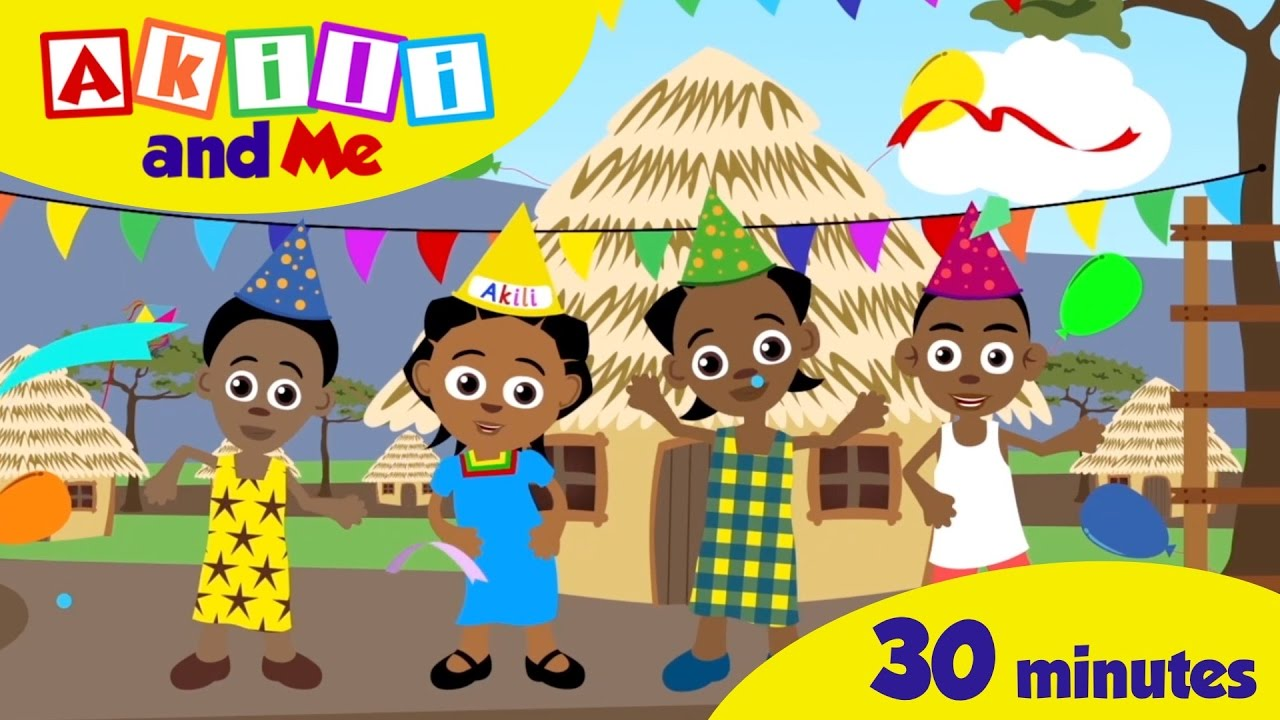 Download Happy Birthday Akili | 30 minute Singalong of African Kids' Songs