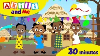 Happy Birthday Akili | 30 minute Singalong of African Kids' Songs