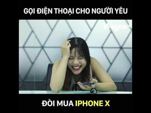 Gọi điện xin người yêu mua iPhone X và cái kết  l trol quả không ngờ