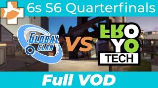 GlobalClan Ice vs froyotech - RGL 6s S6 Quarterfinals - Full VOD