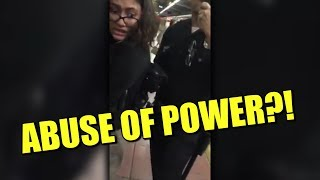 Police Use of Force Doesn't Look Good (MTA TRAIN ARREST)