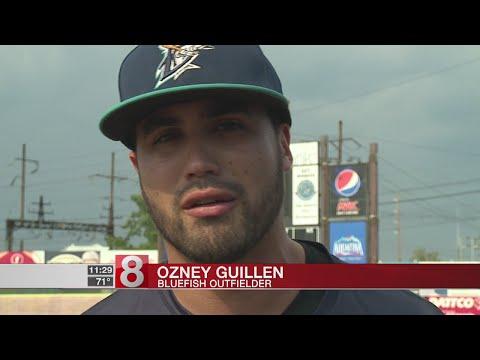 Bridgeport Bluefish Outfielder Ozney Guillen Is Outspoken, Just Like His Dad
