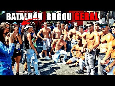 BATALHÃO DE MEN'S PHYSIQUE BUGOU DE VEZ A PAULISTA