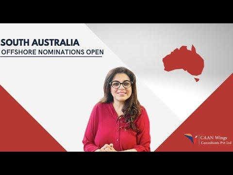 South Australia OFFSHORE Nominations open