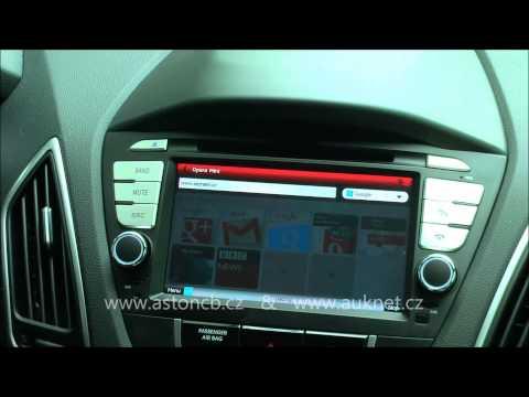 Mont  GPS navigace do Hyundai IX35 model TID C047 S100, parkovac kamera, stropn monitor
