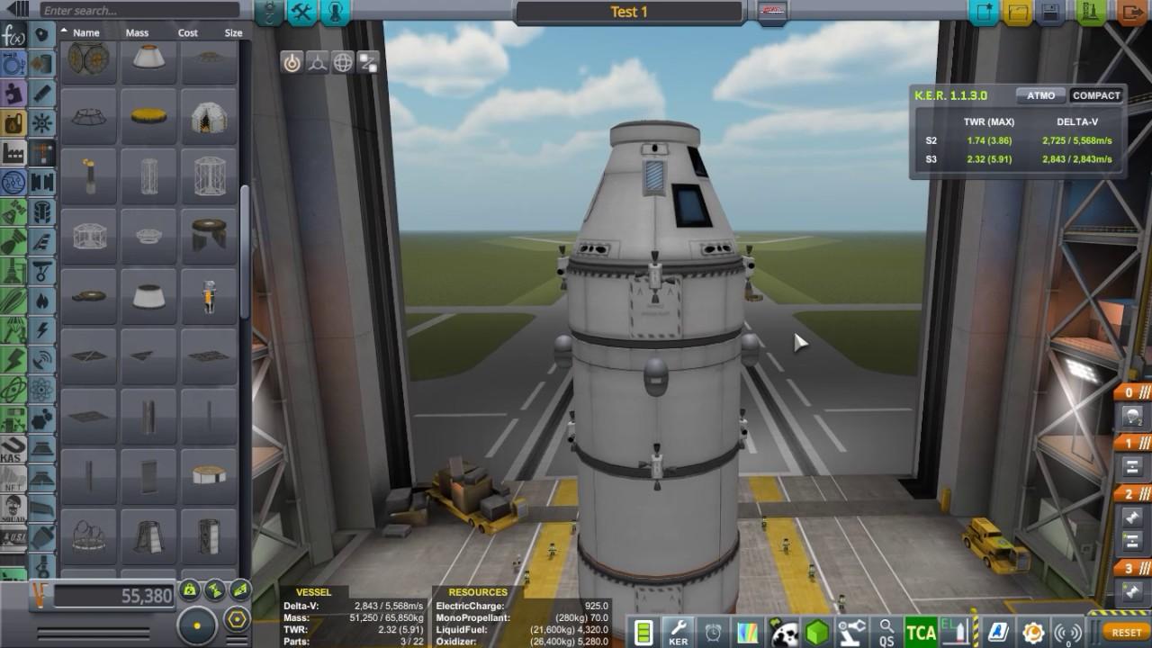 Kerbal Space Program rendevous and docking tutorial. - YouTube