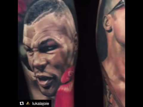 77251b7bb2590 leg tattoo mike Tyson & Brad Pitt - YouTube