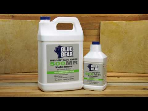 Blue Bear 500mr Mastic Remover You