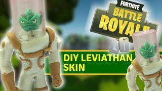 "DIY Leviathan skin from ""fortnite"" - clay tutorial"