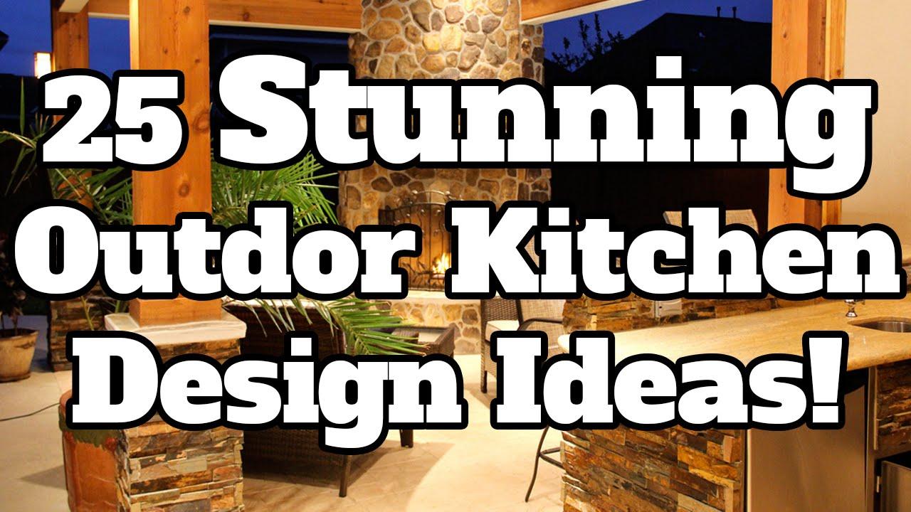 Summer Kitchen Ideas Cart Stainless Steel Top 25 Stunning Outdoor Design