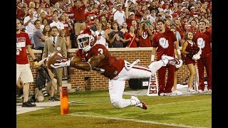 Best Catches In OU Football History HD