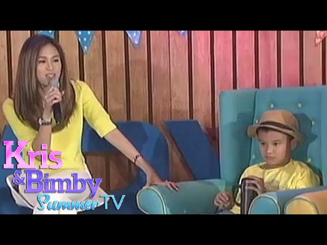 "Kris TV: ""Blank Space"" duet by Bimby and Toni"