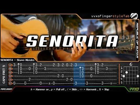 Senorita Lirik Chord