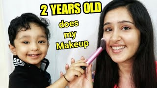 MY COUSIN BROTHER DOES MY MAKEUP | ThatGlamGirl